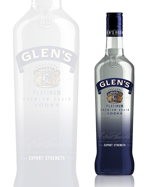 GLEN'S PLATINUM VODKA